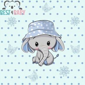 Elefántos kisfiú poszter