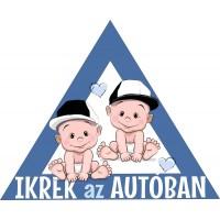 Babamatrica, kisfiú ikertestvérek, kék