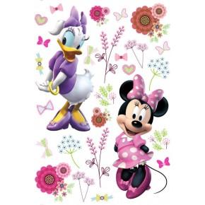 Minnie egér és Daisy kacsa falmatrica