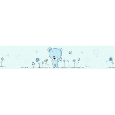Kék macis bordűr
