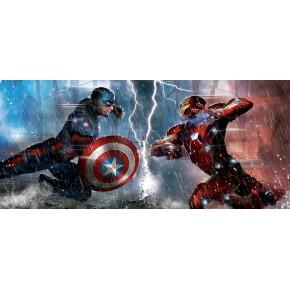 Amerika Kapitánya vs Vasember poszter