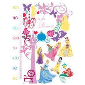 HercegnőS magasságmérős falmatrica