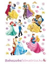 Hercegnők és szerelmük falmatrica