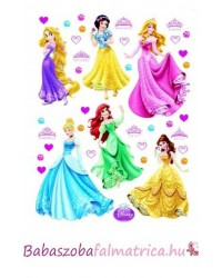 Hercegnők falmatrica