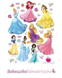 Disney hercegnős falmatrica