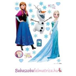 Jégvarázs falmatrica, Elsa, Anna, Olaf