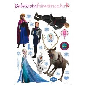 Jégvarázs, Frozen, Elsa gyerekszoba falmatrica