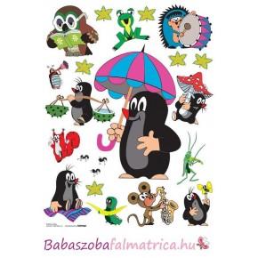 Kisvakond és a napernyő babaszoba falmatrica