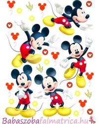 Disney Mickey egér gyerek falmatrica szett