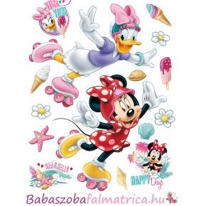 Minnie egér és Daisy kacsa gyerek falmatrica