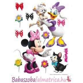 Minnie egér és Daisy kacsa kislány falmatrica