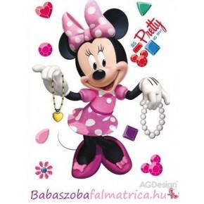 Minnie egér kislány falmatrica