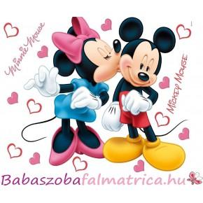Mickey és Minnie Disney gyerek falmatrica