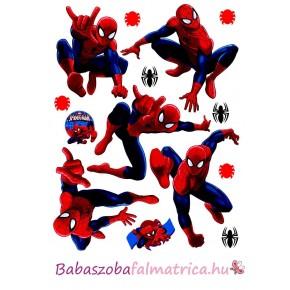 Spiderman gyerek falmatrica